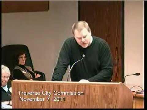 Grand Traverse County Commissioner Jason Gillman