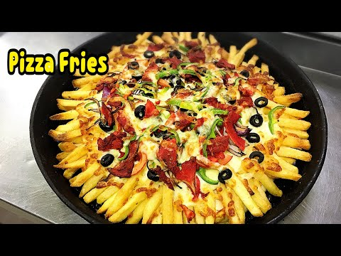Pizza Fries Recipe By Yasmin's Cooking