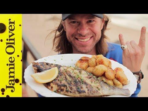 Portuguese Beach Bar Bream | DJ BBQ in Portugal