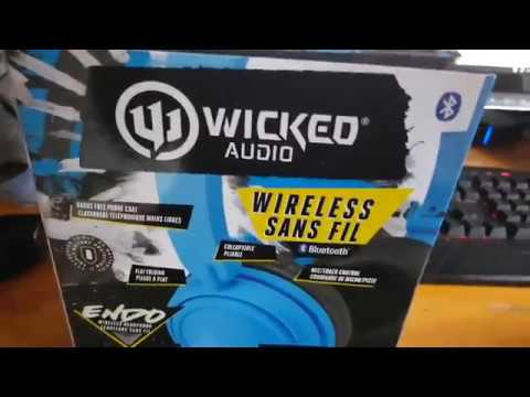 Wicked Audio Endo On Ear Bluetooth Wireless Headphones Review