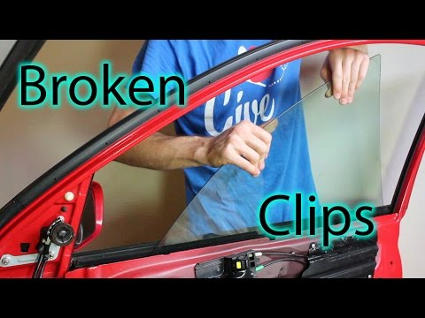 Fixing Broken Window Clips (Toyota Matrix / Pontiac Vibe)