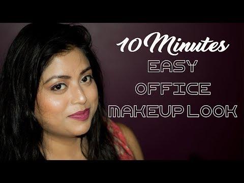 10 Minutes Office Makeup Look With Lakme CC Cream | No Foundation Makeup Tutorial | Indian Makeup