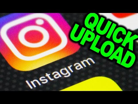 Upload Photo on Instagram using Browser (Instagram Website)