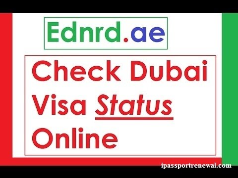 How to check UAE visa status with passport number