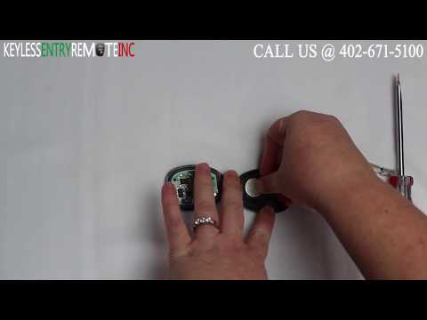 How To Replace GMC Yukon Key Fob Battery 2007 2008 2009 2010 2011 2012 2013 2014