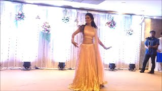 Best Wedding dance performance ever by beautiful bride with sister | Indian Weddings