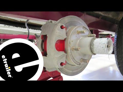 Kodiak Ceramic Brake Pads Installation - etrailer.com