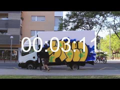 BEST GRAFFITI BOMBING (Graffiti Illegal) - Spain - Speed Truck
