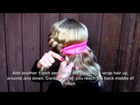 Headband Curls by Savvy Curls