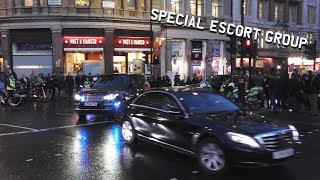 RARE | London Police SEG escorting Saudi Arabia Crown Prince Mohammed bin Salman