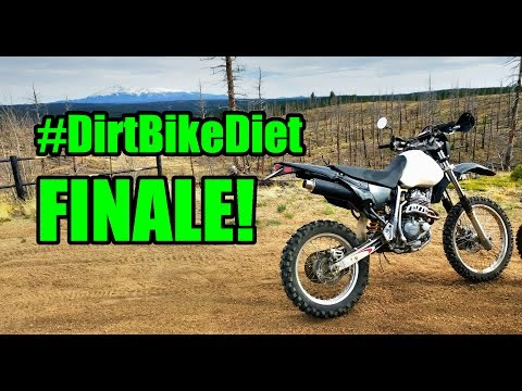 #DirtBikeDiet Finale! Hermit Finally Gets To Ride the XR400