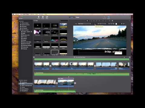 New! iMovie Text Tutorial Mavericks