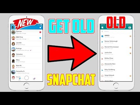 How To Get The Old Snapchat Update BACK! (NO Jailbreak NO Computer) WORKING 2018!