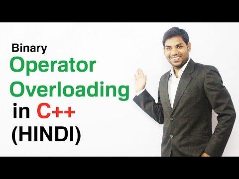 Binary Operator Overloading in C++ (HINDI)