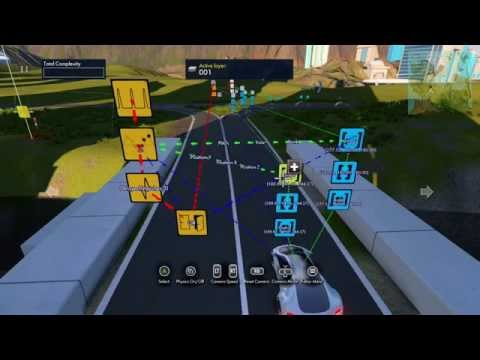 Trials Fusion Editor: Car moving along the street (basics)