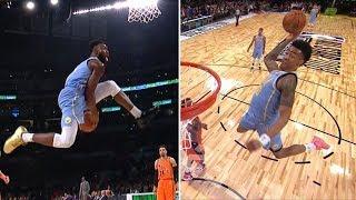 Jaylen Brown and John Collins put on dunk showcase in NBA Rising Stars Game   ESPN