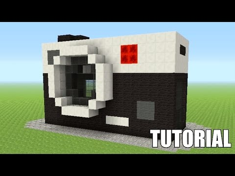 Minecraft Tutorial: How To Make A Camera!! (Survival House)