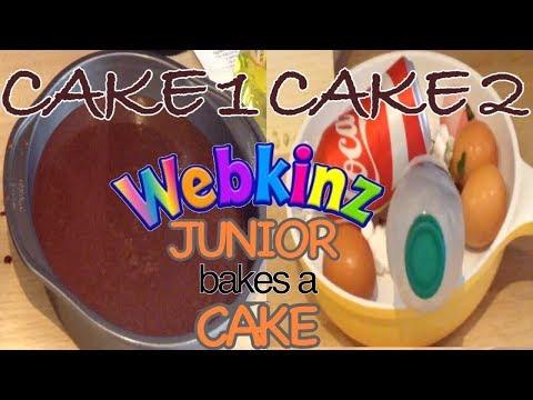 Junior Bakes a Cake - Webkinz