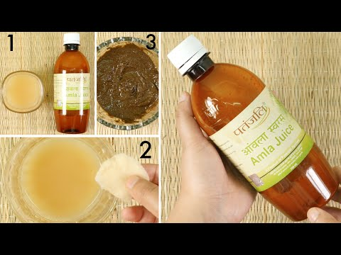 How to Use Patanjali Amla Juice for Glowing Skin & Long Black Hair + Review