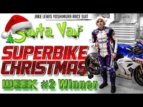 Santa Van's Superbike Christmas: Week 2 Race Suit Giveaway Winner Announcement!
