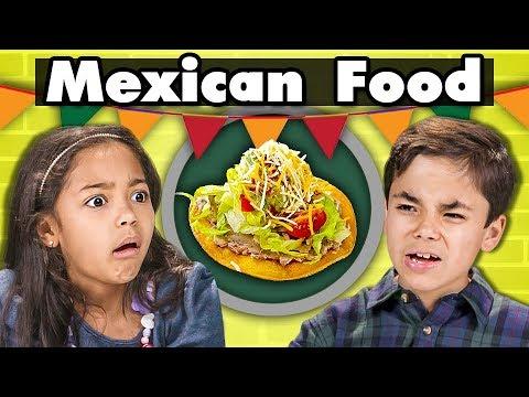 KIDS EAT MEXICAN FOOD   Kids Vs. Food