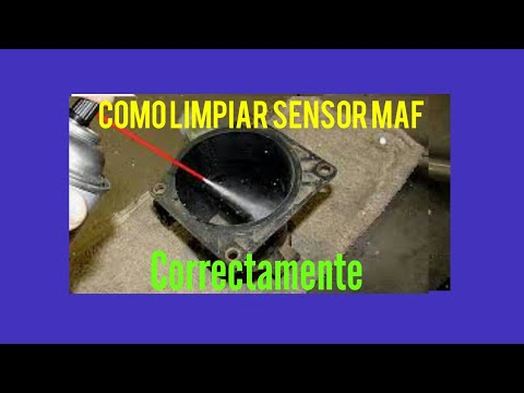 Como Limpiar Sensor MAF (mass air flow sensor)
