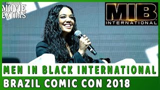 MEN IN BLACK INTERNATIONAL | CCXP 2018 Panel Highlights (Sony Pictures)