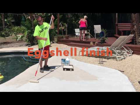 Anvil Pool Deck Concrete Stain