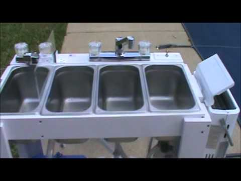 Portable Concession Sink for Moble Food Vendors