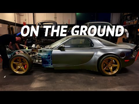 The 4 Rotor RX-7 Chassis is Complete!