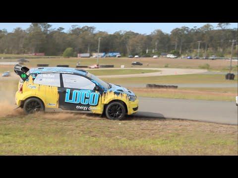 Australian Rally cross Round 3 Lakeside International Raceway Aug16