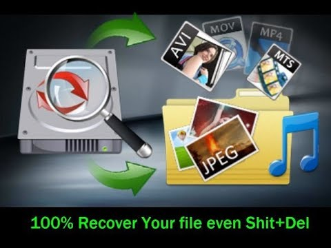 Shift Delete Recovery - How to Recover Shift+Deleted Files in Windows 10/8/7