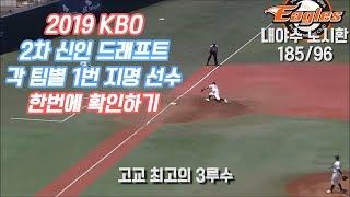 Download 2019 KBO 2차 신인드래프트 1라운드 지명자 모음 Video