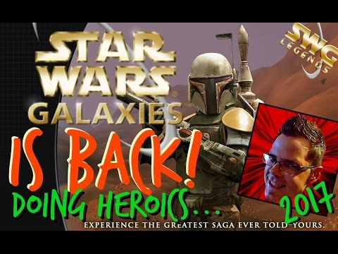 Star Wars Galaxies IS BACK 2017! Part 2 of ►SWG LEGENDS◄ NGE - Heroic instances!