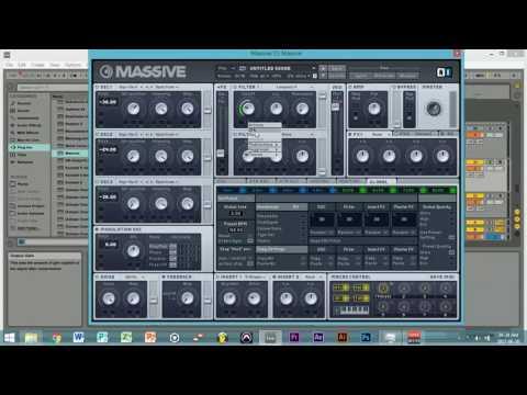 HOW TO MAKE WOBBLES LIKE KYLE WATSON NI MASSIVE - Harvard Sound Design