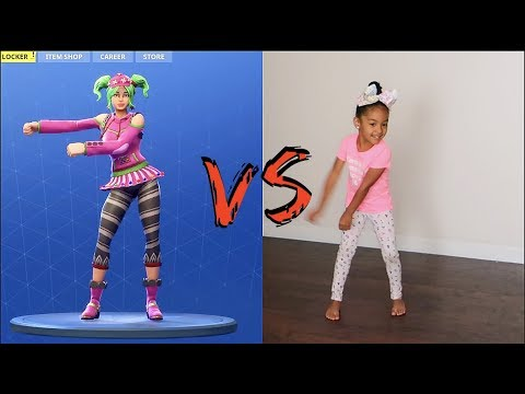 FORTNITE DANCE CHALLENGE! *IN REAL LIFE*