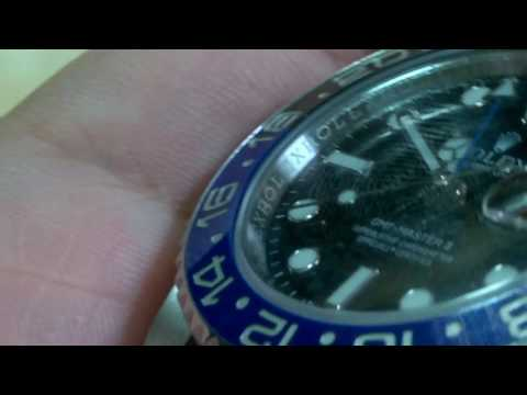 ROLEX SERIAL NUMBER AND MODEL NUMBER PLACEMENT ON NEWER ROLEX WATCHES