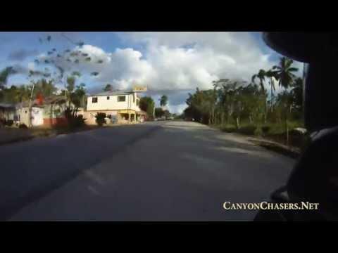 Motorcycle ride through El Limon in the Dominican Republic