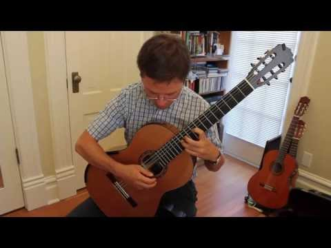 Lesson: Beginner Tremolo Exercise for Classical Guitar
