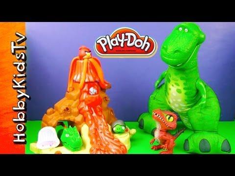 Play-Doh Volcano Adventure!