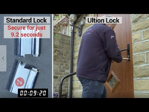 most secure front door lock uk