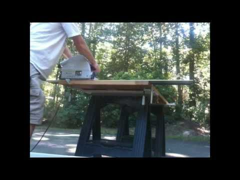 Using the Festool TS-75 to cut a door down.  #tools #carpenter #ct #craftsmanjay