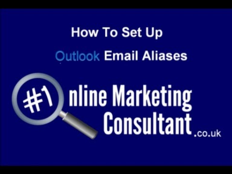 How to set up outlook aliases - Set up company email address on outlook & hotmail