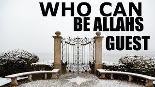 Do you want to be Allahs Guest ? Bind with Masjid