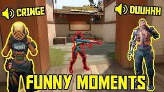 FUNNIEST MOMENTS IN VALORANT #57...