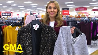 Lori Bergamotto shares fall trends you should shop for at T.J. Maxx l GMA Digital