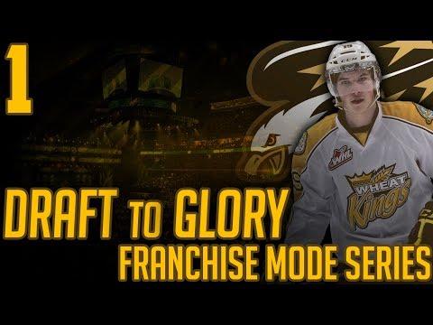 NHL 17 - Draft To Glory Franchise Mode #1