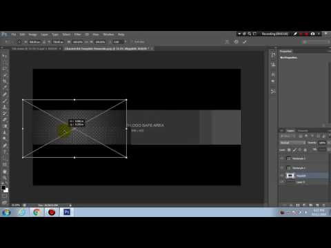 Create Channel Art For Youtube - photoshop cs6