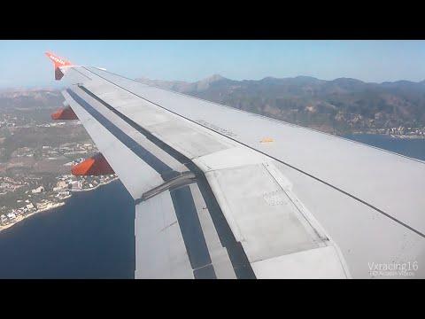 Easyjet EZY7423 London Southend (SEN) - Palma De Mallorca (PMI) *FULL FLIGHT* Airbus A319 G-EZAK