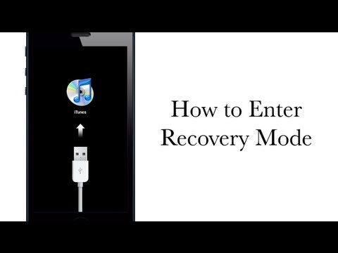 How to Put your iPhone, iPad or iPod touch in Recovery mode - iPhone Hacks